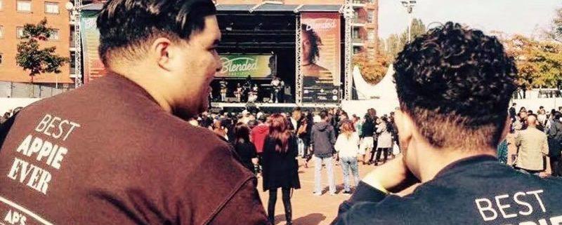 Ap's Services bij festival